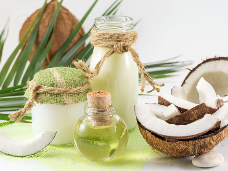Les utilisations de l'huile de coco dans les produits cosmétiques